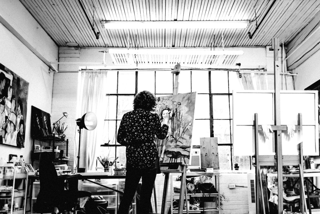 Julia C Pomeroy - artist, painter | artiste, peintre